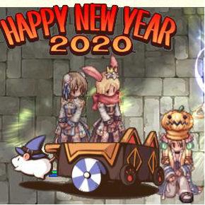 あけおめ新年のごあいさつ